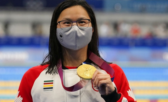 Kanadalı Margaret Macneil 100 metre Kelebekte Altın Madalya Aldı