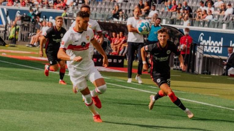 Eintracht Frankfurt Stuttgart ile berabere kaldı