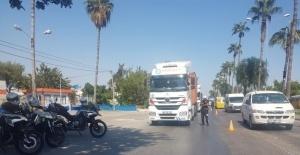 Mersin'de yılın ilk 8 ayında 157 bin 446 yük taşıyan araç kontrol edildi