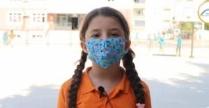 Minik öğrencilerden klipli 'aşı' çağrısı