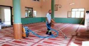 Akdeniz Belediyesinin salgınla mücadele çalışmaları sürüyor