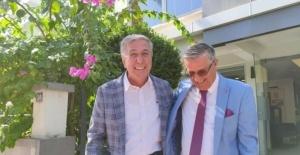 DTO Antalya Şube Başkanı Çetin, Başkan Topaloğlu'nu ağırladı.