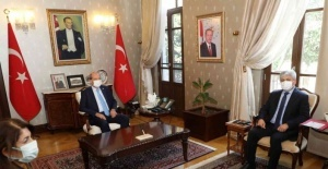 KKTC Cumhurbaşkanı Ersin Tatar Hatay'da
