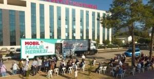 Mobil Sağlık Merkezi Finike'de