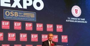 OSBÜK Başkanı Kütükcü, OSB'lere enerjide pozitif ayrımcılık istedi