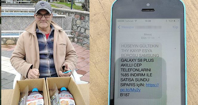 3 bin liralık telefon sipariş ettiler, paketten bitki çayı ve solisyon çıktı