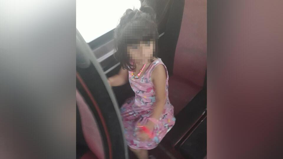 5 yaşındaki kız minibüste unutuldu