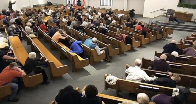 ABD'de kiliseye silahlı saldırı: 2 kişi hayatını kaybetti