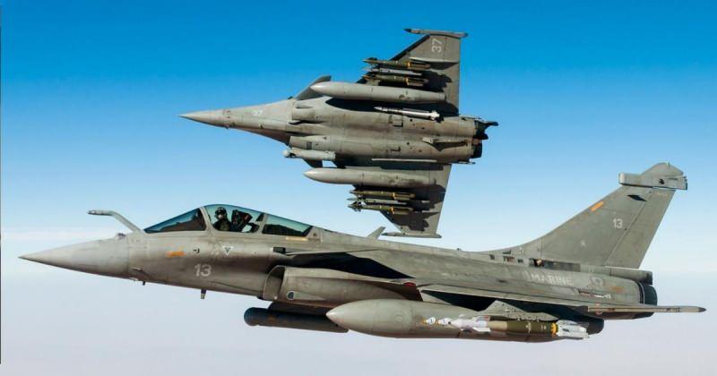Dassault firmasnın geliştirdiği Rafale savaş uçağı