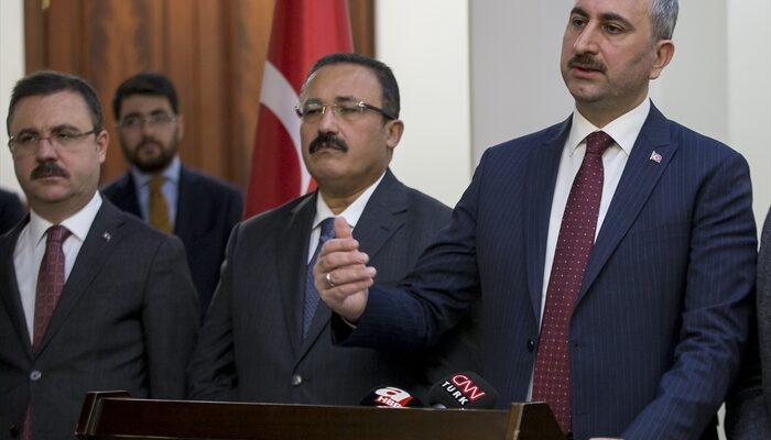 Adalet Bakanı Abdulhamit Gül açıkladı: İdari izinli sayılacaklar