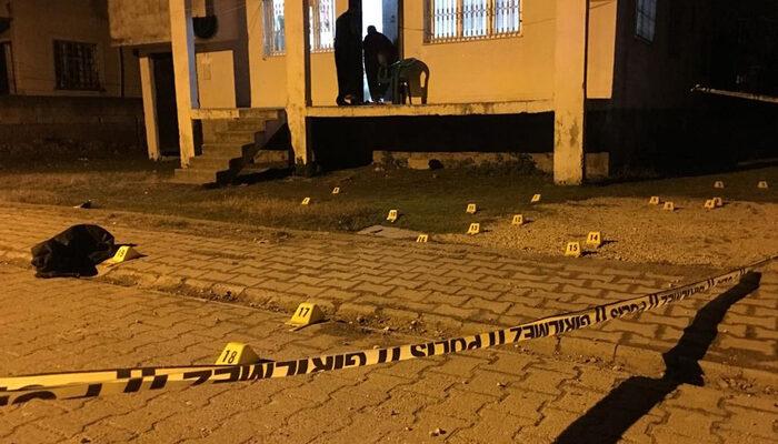 Adana'da husumetli iki grup arasında silahlı çatışma: 1 ölü, 2 yaralı