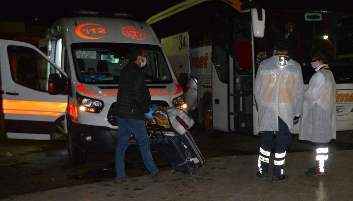 Adana'da koronavirüs alarmı! Otobüsten indirilip karantinaya alındılar