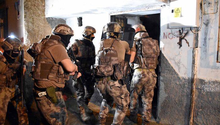 Adana'ta terör propagandası yapanlara operasyon!