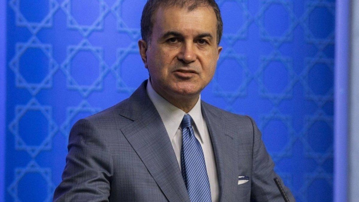 AK Parti Sözcüsü Çelik: Albayrak'ı hedef alan CHP'yi kınıyoruz