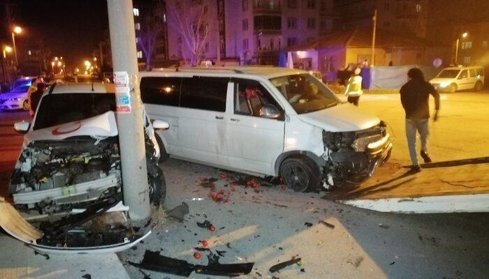 Aksaray'da feci kaza: Yaralılar var