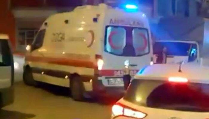 Ambulans sirenleri eşliğinde