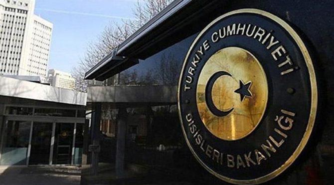 Ankara'dan Avrupa Parlamentosu'na tepki