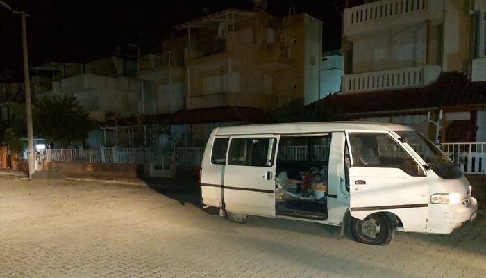 Aydın'da park halindeki araçtan erkek cesedi çıktı