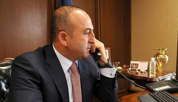Bakan Çavuşoğlu, AB yetkilisi Josep Borrell Fontelles görüştü
