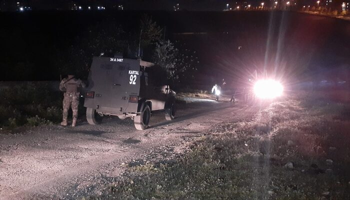 Başakşehir'de şüpheliler ile polis arasında kovalamaca: 1 yaralı, 1 gözaltı