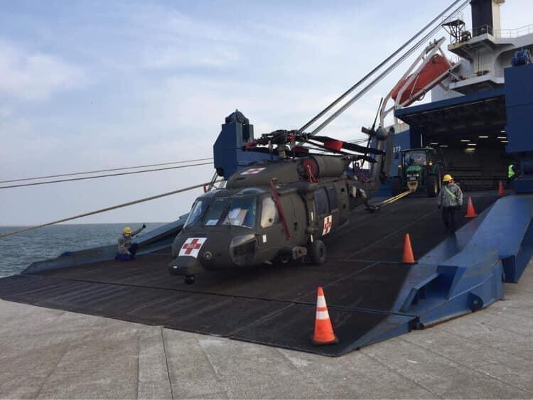 Batı Trakya'ya Amerikan çıkarması: Askeri teçhizatları taşıyan gemi Dedeağaç'ta