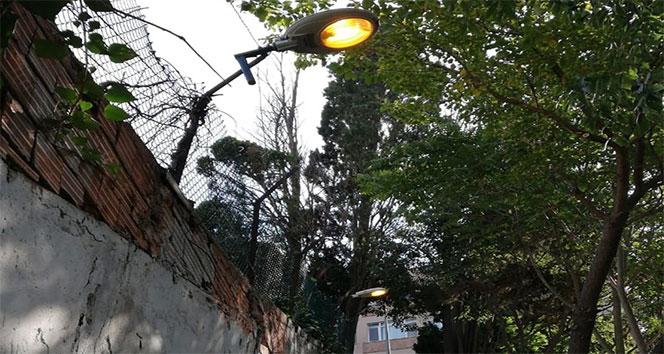 Beşiktaş Belediyesi taciz olayı yaşandığı iddia edilen sokağı aydınlattı