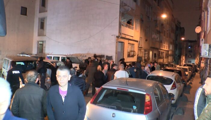 Beyoğlu'nda 5 katlı apartmanda yangın paniği