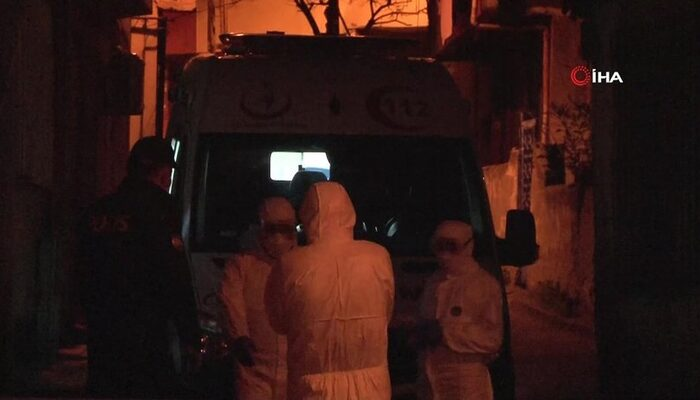 Beyoğlu'nda dört kişilik aile koronavirüs şüphesiyle gözaltına alındı