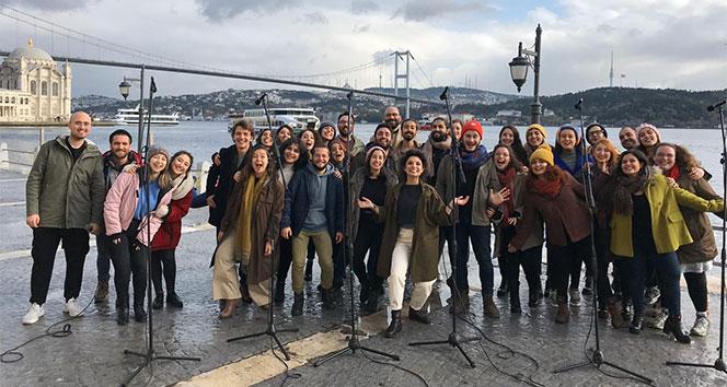 BM'nin öncülük ettiği küresel iklim hareketinin Türkiye elçisi Chromas Korosu oldu