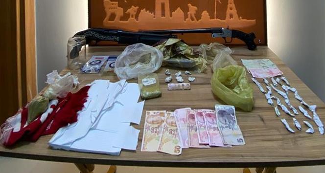 Çanakkale'de uyuşturucu operasyonu: 20 gözaltı