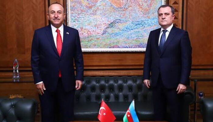 Çavuşoğlu ve Bayramov'dan kritik görüşme