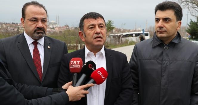 CHP'li heyetten Demirtaş'a 'geçmiş olsun' ziyareti