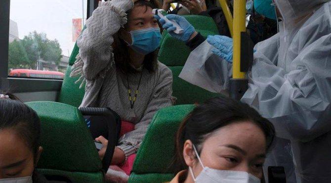 Corona virüsü taşıyan kadın hastaneden kaçtı!