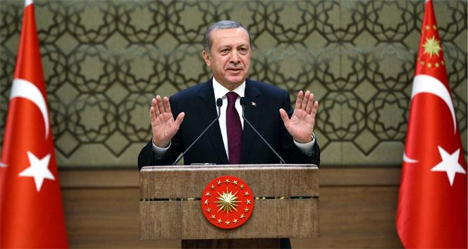 Cumhurbaşkanı Erdoğan: 'Bu tür yalan yanlış tarih açıklayanlar kendilerini buğday ambarında sananlardır'