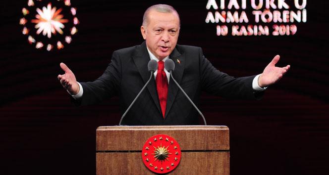 Cumhurbaşkanı Erdoğan'dan Atatürk istismarcılarına çok sert tepli