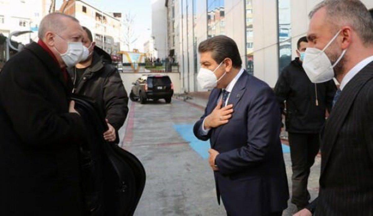 Cumhurbaşkanı Erdoğan dan Esenler Belediyesi ne ziyaret #1