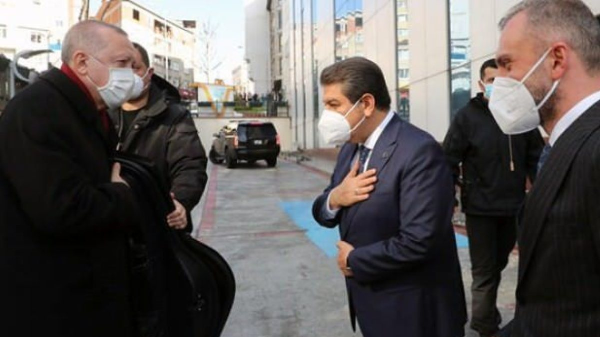Cumhurbaşkanı Erdoğan'dan Esenler Belediyesi'ne ziyaret