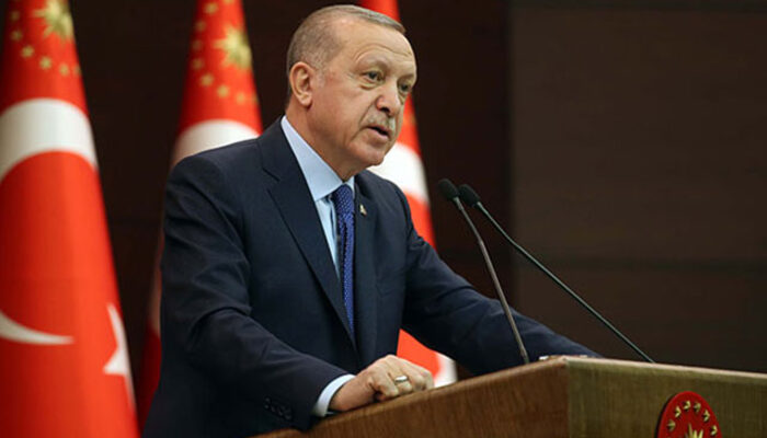 Cumhurbaşkanı Erdoğan'dan 'koronavirüs' mesajı