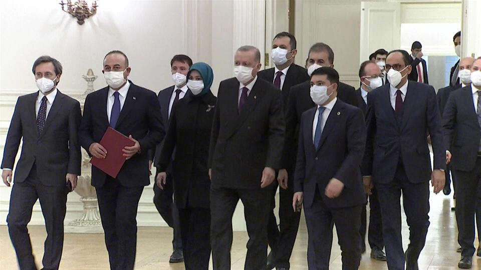 Cumhurbaşkanı Erdoğan'ın AB elçileri görüşmesinin arka planı | Video