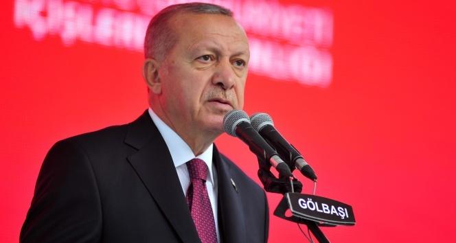 Cumhurbaşkanı Erdoğan: 'İsteseler de istemeseler de Kanal İstanbul'u yapacağız'