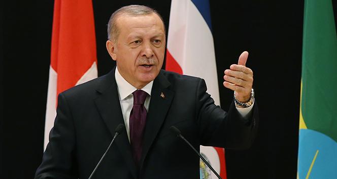 Cumhurbaşkanı Erdoğan: 'Mülteci meselesi birkaç ülkenin çabasıyla önlenemez'