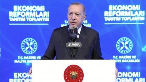 Cumhurbaşkanı Erdoğan yeni 'Ekonomi Reformları'nı açıkladı: Yatırım, istihdam, üretim, ihracat