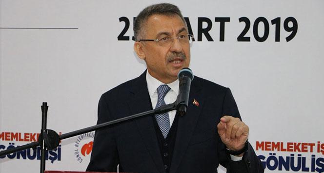 Cumhurbaşkanı Yardımcısı Fuat Oktay: 'Türkiye'nin çıkarları neyi gerektiriyorsa onu yaparız'