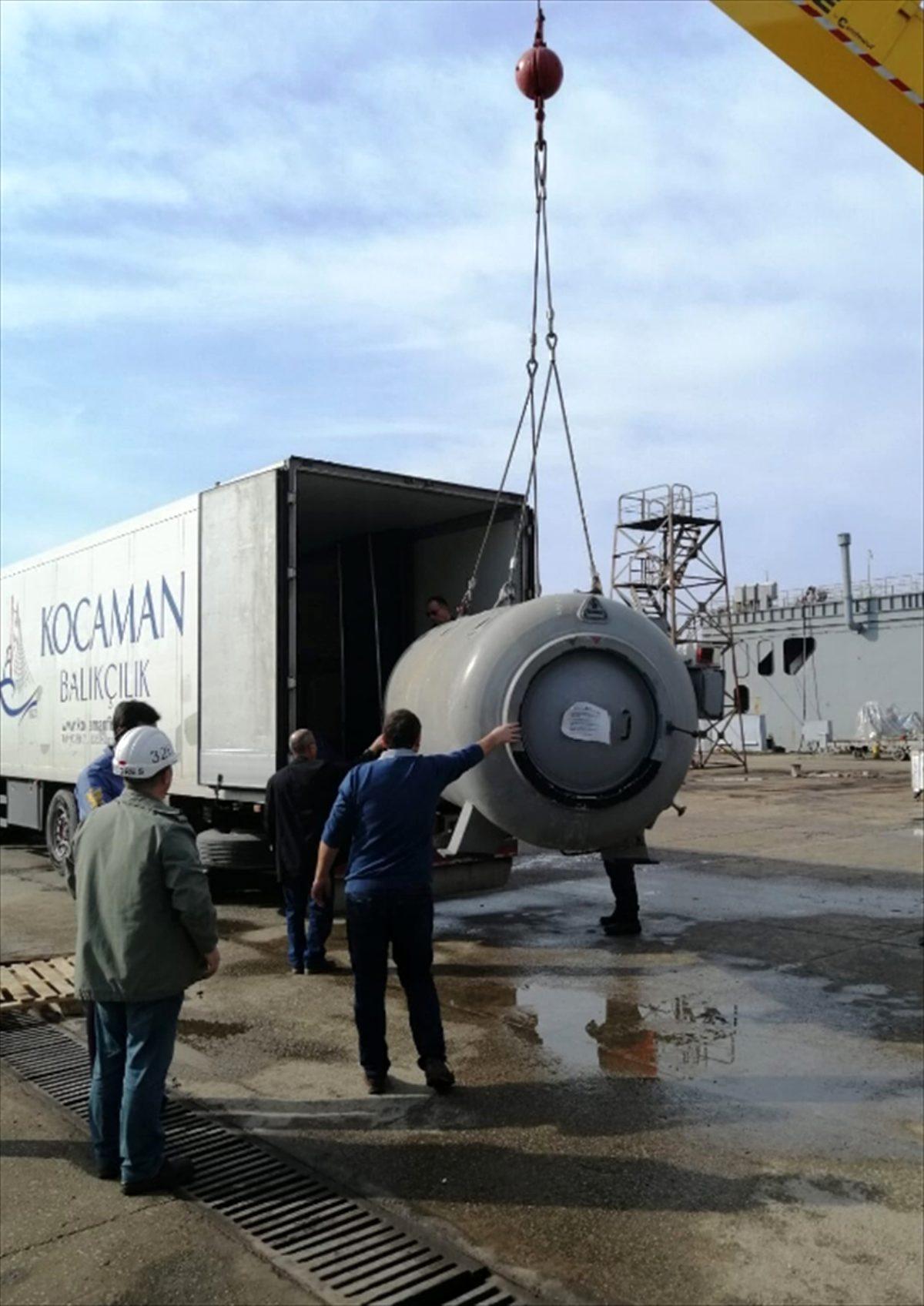 Deniz Kuvvetleri Komutanlığına ait basınç odası eğitime hizmet edecek