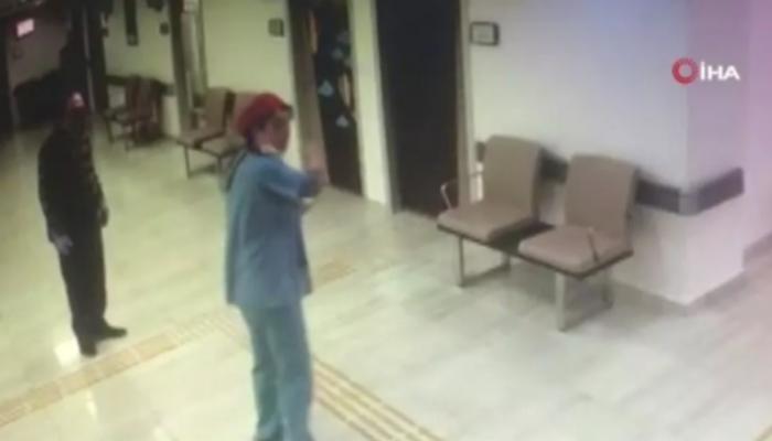 Doktorlar arasında 'Ben bu hastaya bakmam' kavgası! O anlar saniye saniye kamerada