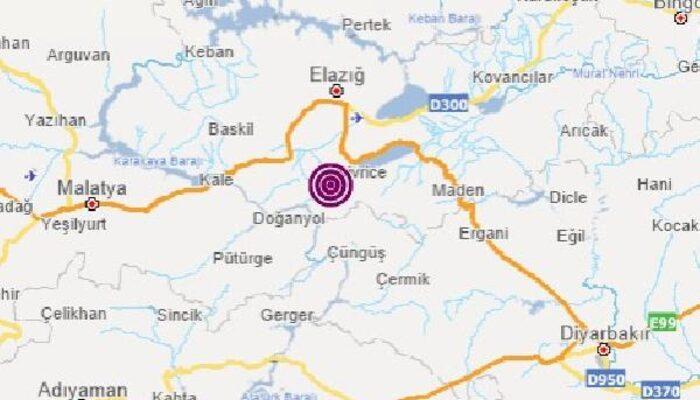 Elazığ'da deprem! (AFAD-Kandilli son depremler)