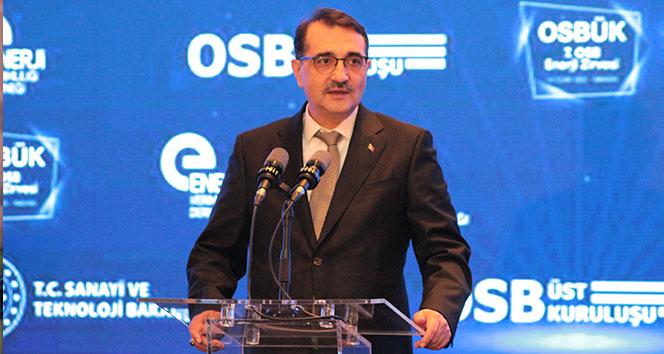 Enerji Bakanı Dönmez: 'Sıfırdan çıktığımız yolda 'Made In Türkiye' damgasıyla can verdik'