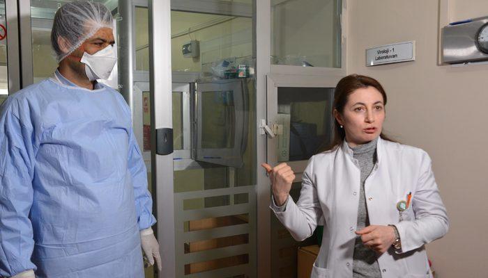 Erzurum'da koronavirüs şüphesiyle incelenen 124 numune negatif çıktı