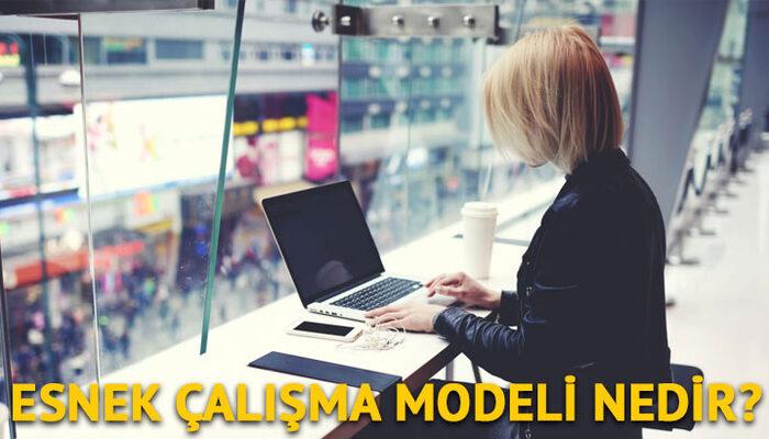 Esnek çalışma nedir?   Esnek çalışma modeli ve esnek çalışma saati nedir?
