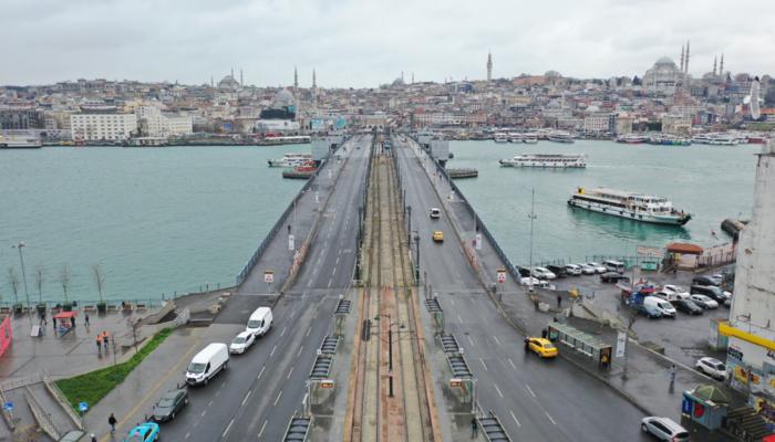 'Evde kal' çağrısına İstanbul'un en çok hangi semtleri uydu, hangi semtler uymadı?